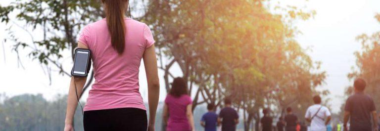 caminar para 300 calorías